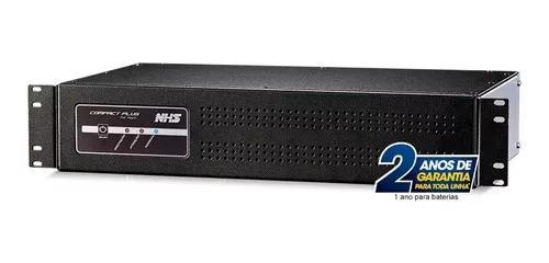 Nobreak 1200va Rack 2u Bivolt Nhs Compact Plus 8 Saídas
