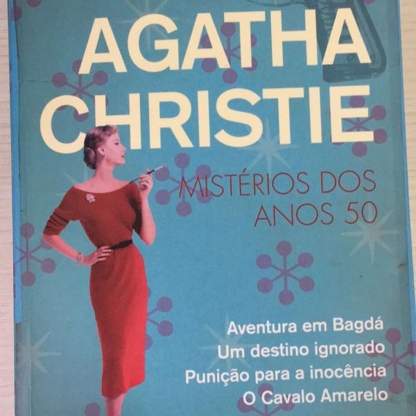 agatha christie mistérios dos anos 50