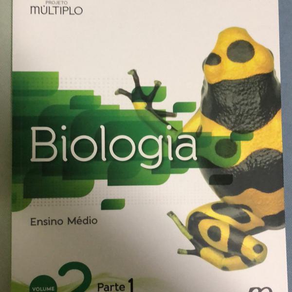 biologia volume 2 projeto múltiplo