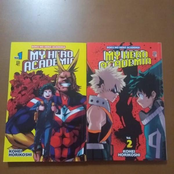 boku no hero academia vol. 01 e 02