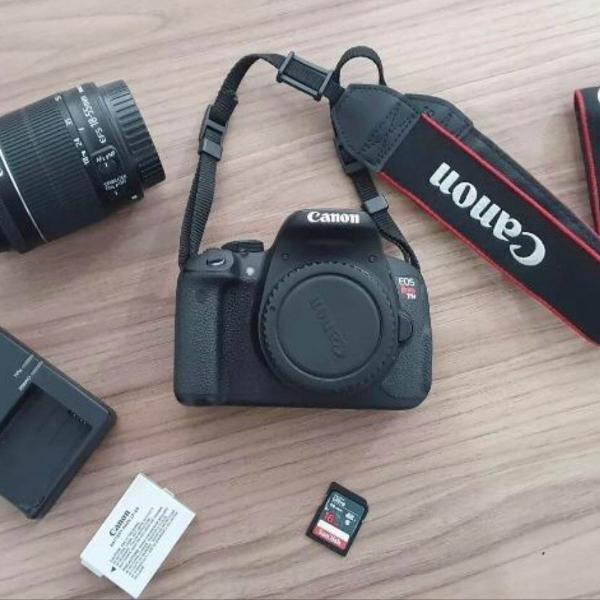 câmera cânon t5i eos rebel