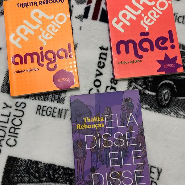 livros talita rebouças: fala sério mãe!, fala sério