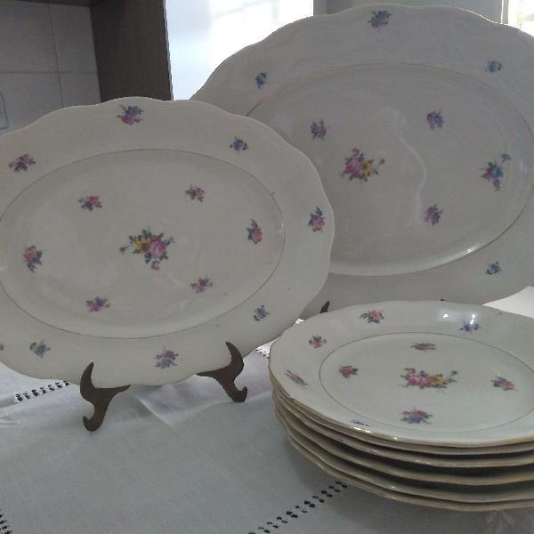 porcelana polonesa