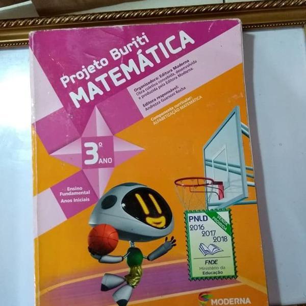 projeto buriti matemática 3º ano