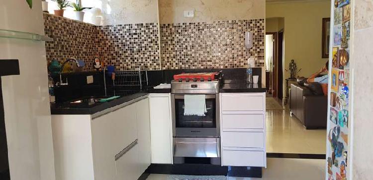 Apartamento para venda com 90 metros quadrados com 2 quartos
