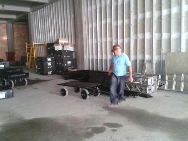 Carregadores para shows e eventos