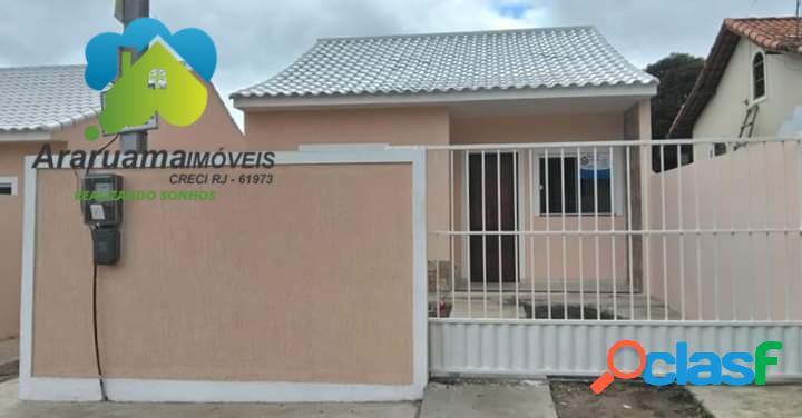 Excelente casa nova em araruama localizada no bairro viaduto