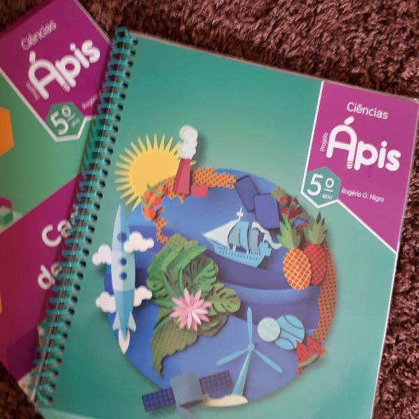 Livro Ciências 5 ano Projeto Ápis. Novo