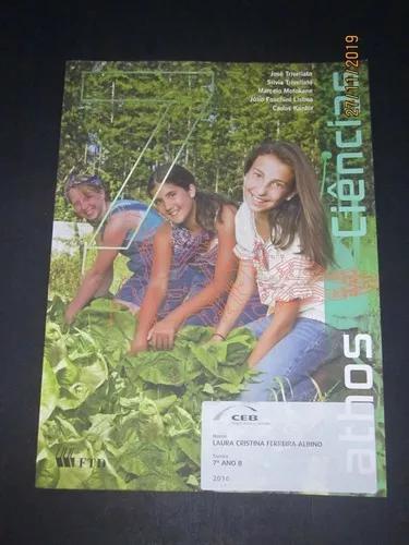 Livro Projeto Athos Ciências 7º Ano