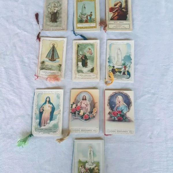 Lote de livrinhos católicos vintage