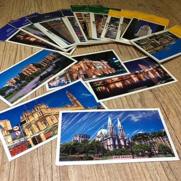 cartão postal cidade de são paulo