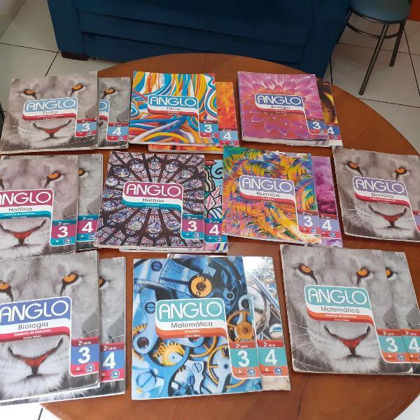 coleção livros anglo ensino médio