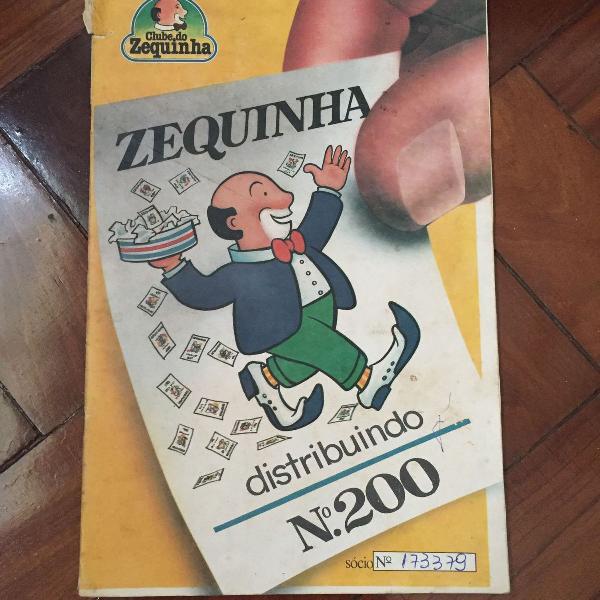 lbum de Figurinhas de 1979 - Clube do Zequinha -
