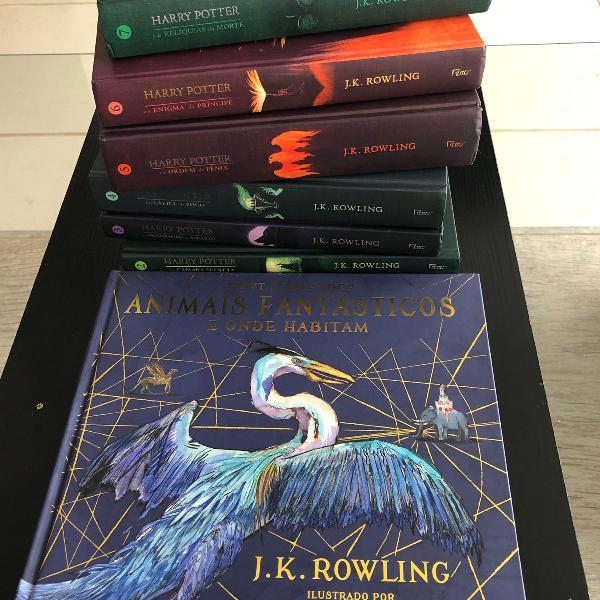 todos os livros do harry potter
