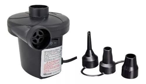 Bomba De Ar Elétrica Inflador Inflar Encher Colchão