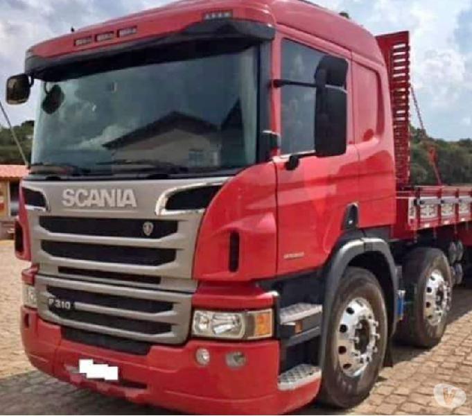 Caminhão Scania p310 bitruck 2014