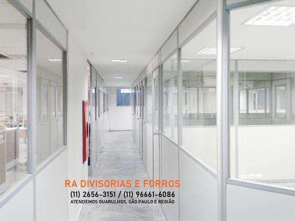 Divisórias Drywall em Guarulhos Eucatex Forros Pvc Isopor