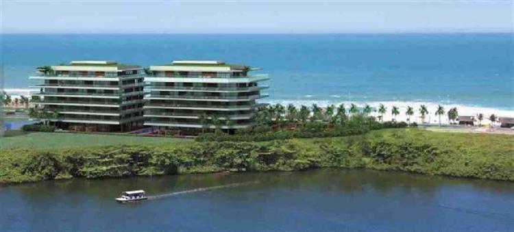 Exclusivo apartamento de 1 suíte com 131 m² - vista mar