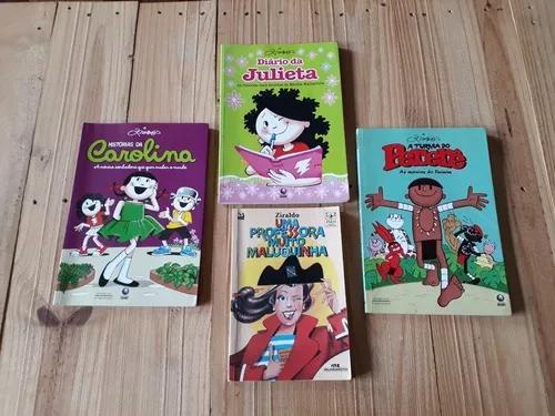Lote Com 4 Livros Ziraldo: Infanto Juvenil E Quadrinhos