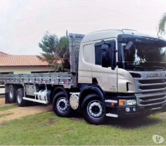 Scania P310 8x2 Carroceria Ano 2014 Unico Dono