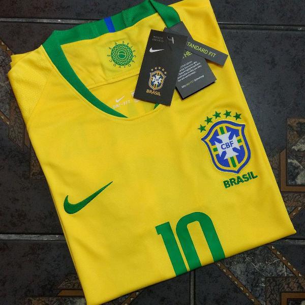 camisa nike seleção brasil copa 2018