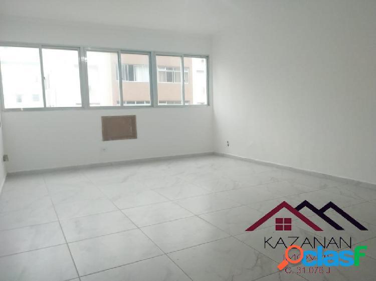 Apartamento 2 dormitórios (1 suíte), 1 vaga, vista lateral