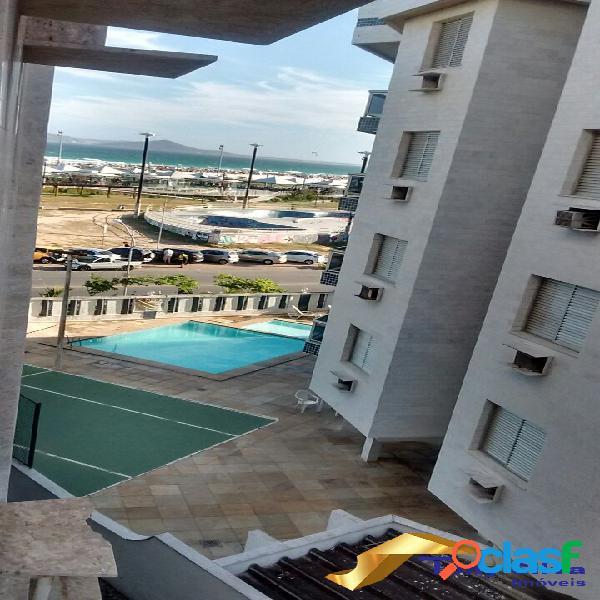 Apartamento 3 quartos Vista Mar, Praia do Forte Cabo Frio