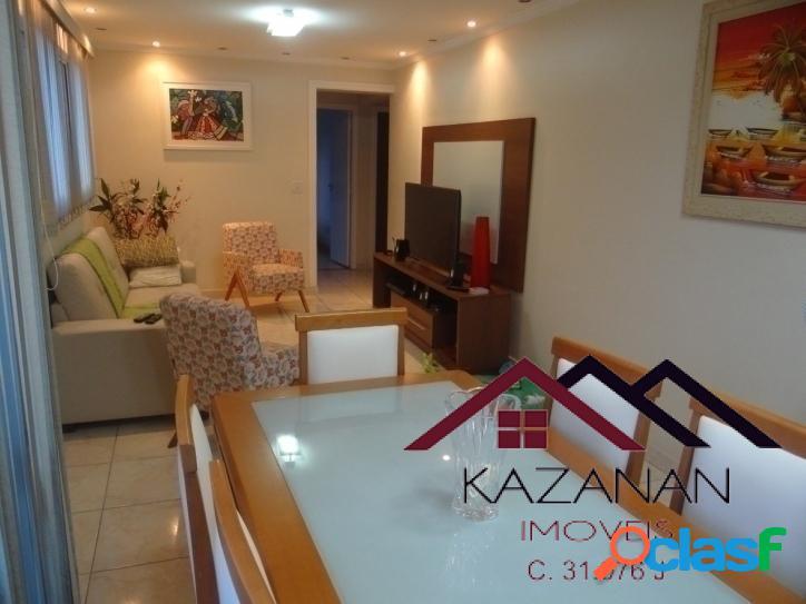 Apartamento Amplo com 2 Dormitórios e 2 Vagas - Campo