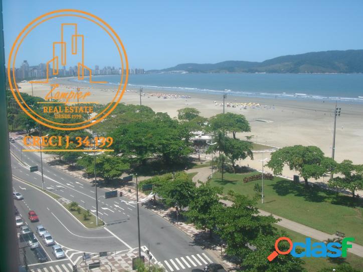 Apartamento Frente Mar - José Menino - Santos