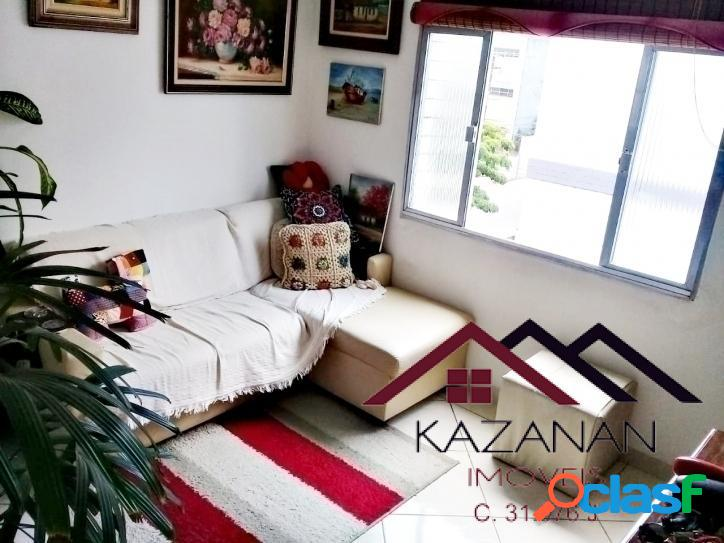 Apartamento com 2 Dormitórios, 1 Vaga na Aparecida / Santos