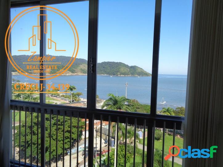 Apartamento com 2 dormitórios - Ponta da Praia - Santos