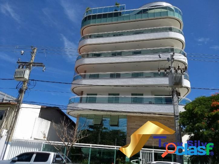 Excelente Apartamento de 3 Quartos no Centro de Cabo Frio