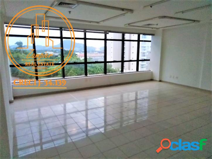 Sala Comercial 60 mt² na Ponta da Praia - Santos