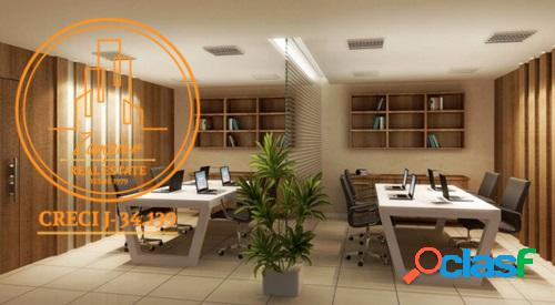 Salas Comerciais de 84 a 577 m² - Vila Mathias - Santos