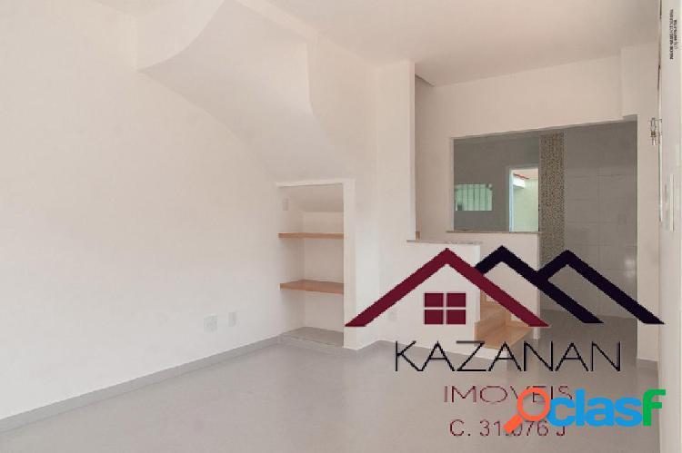 Sobrado Totalmente Reformado - 90 m² - 2 Suites - Embaré