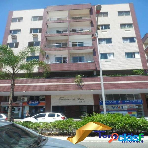 Temporada!Apartamento 2 quartos perto da Praia do Forte