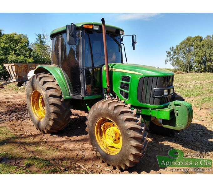 Trator John Deere 6110 J 4x4 (Único Dono - 2.600 Horas!)