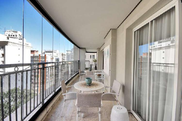 Apartamento com 4 dormitórios, 4 suítes, 6 vagas, 367m²,