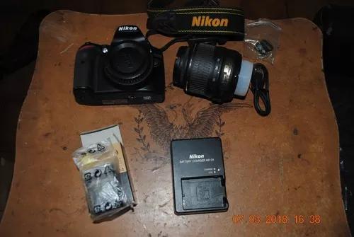 Camera Nikon D3200 Com Objetiva 18 55mm