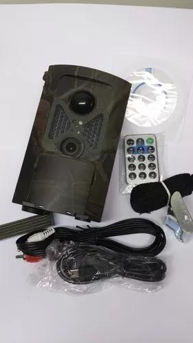 Camera Trilha Caça Visão Noturna Camuflada 1080 Prova D