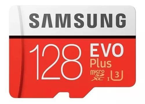Cartao Samsung Micro Sdxc 100mb/s 128gb 4k Xperia Xz Xa1 L1