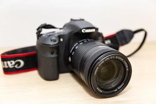 Câmera Fotográfica Canon 60d Lente 18 135 Mm + Baterry