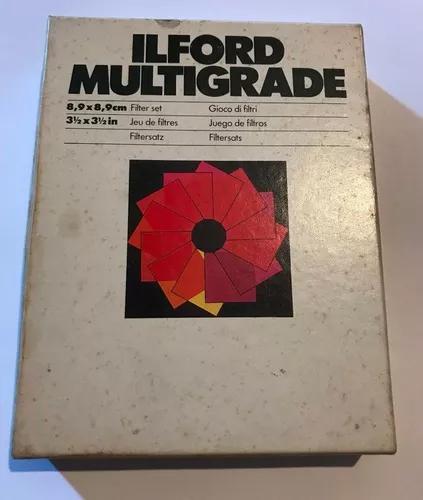 Filtros Ilford Multigrade 8,9x8,9cm Set Completo 12 Filtros
