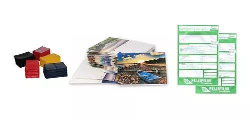 Kit 1000 Carteirinhas + 1000 Envelopes Num + 100 Álbuns 40f