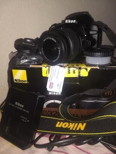 Nikon D3200 Excelente Estado De Conservação 1900 Cliks