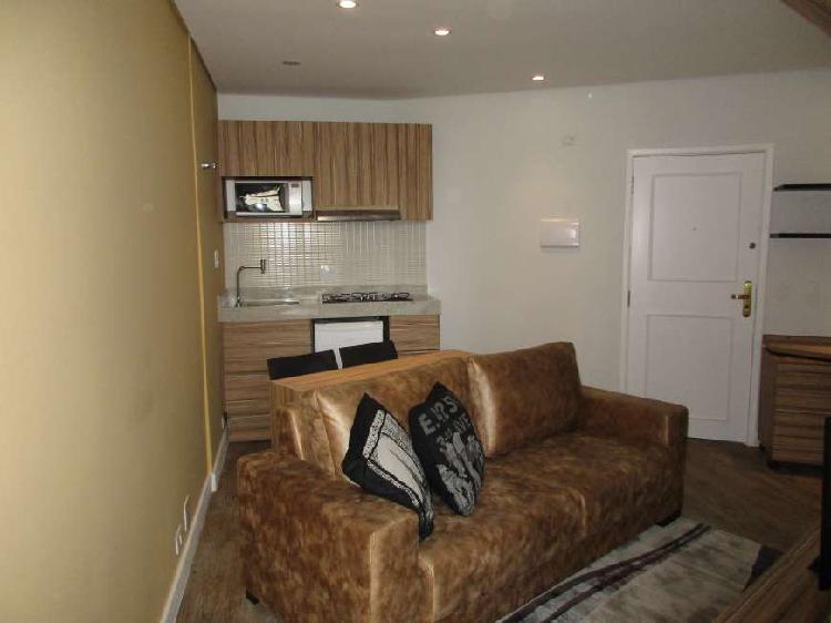 Apartamento de 39 m² e 1 quarto à venda, próximo ao
