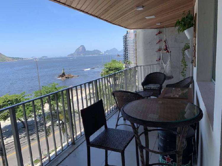 Apartamento de frente para praia de Icaraí - Niterói - Rio