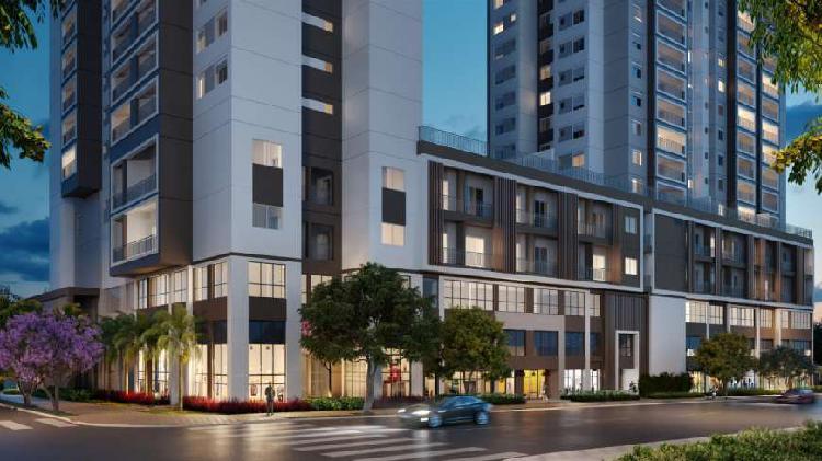 Apartamento em Santo Amaro com 84m²   3 dormitórios com 2