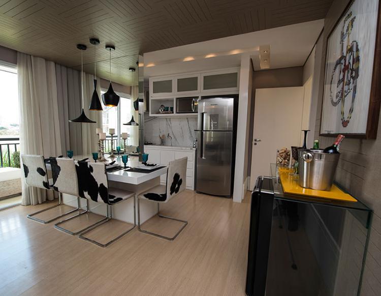 Apartamento para venda possui 50 metros quadrados com 2