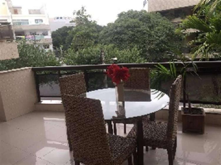 Apartamento à venda com 102 m², 3 quartos no Recreio dos